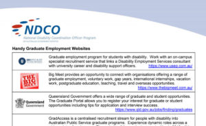 Handy Graduate Employment Websites